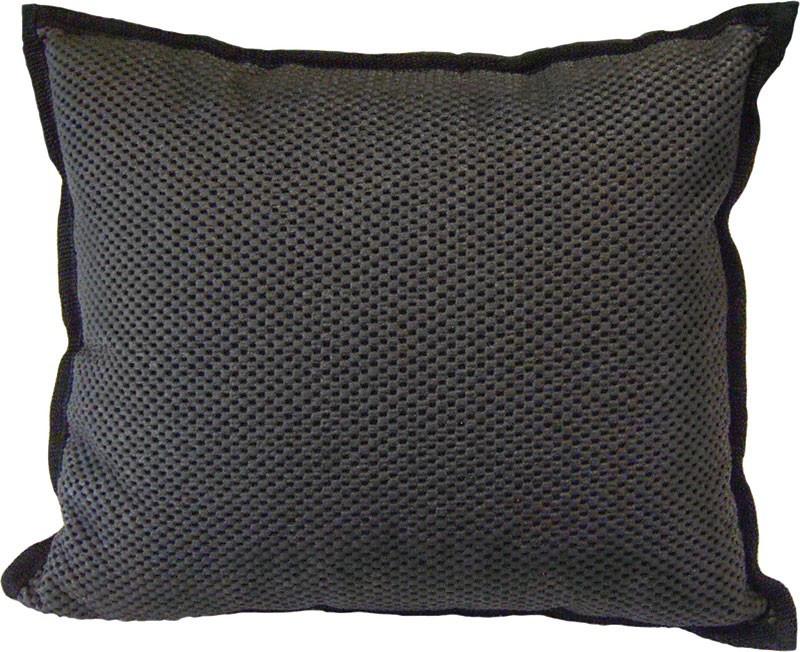 Lavastein Sitzkissen schwarz