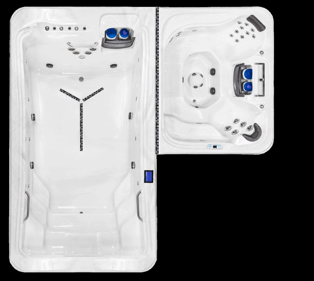 Dual SwimSpa DTL-6