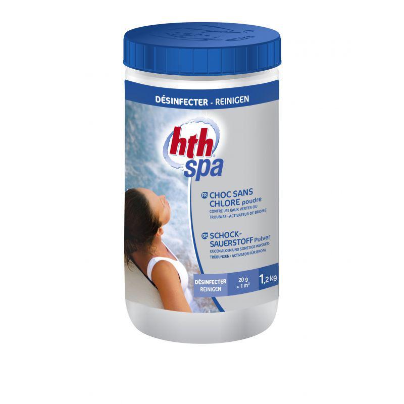 hth® Spa Schocksauerstoff Pulver
